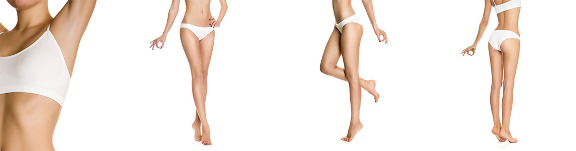 Epilations aisselles maillot jambes corps